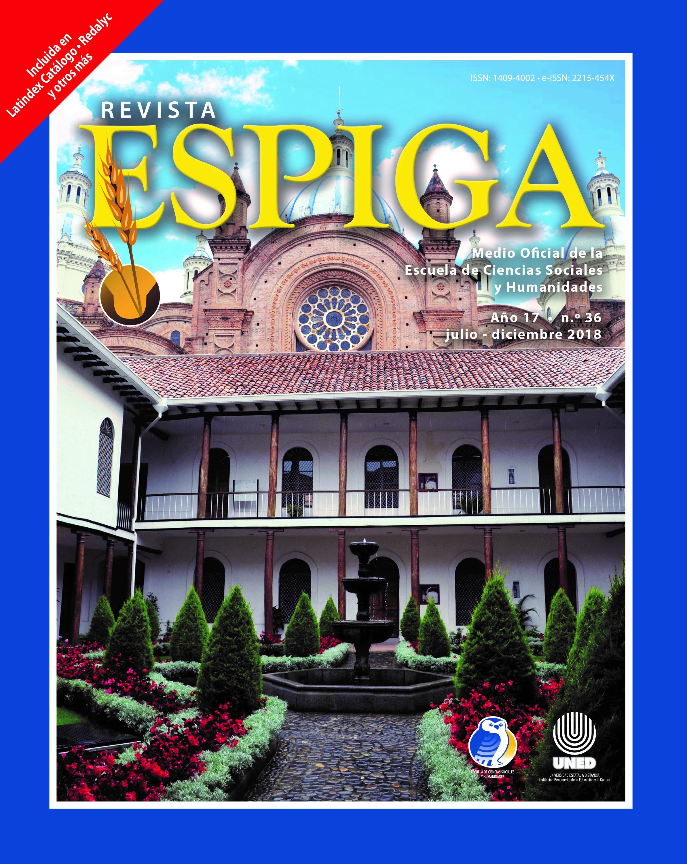Cuenca, Ecuador. Portada revista Espiga, número 36